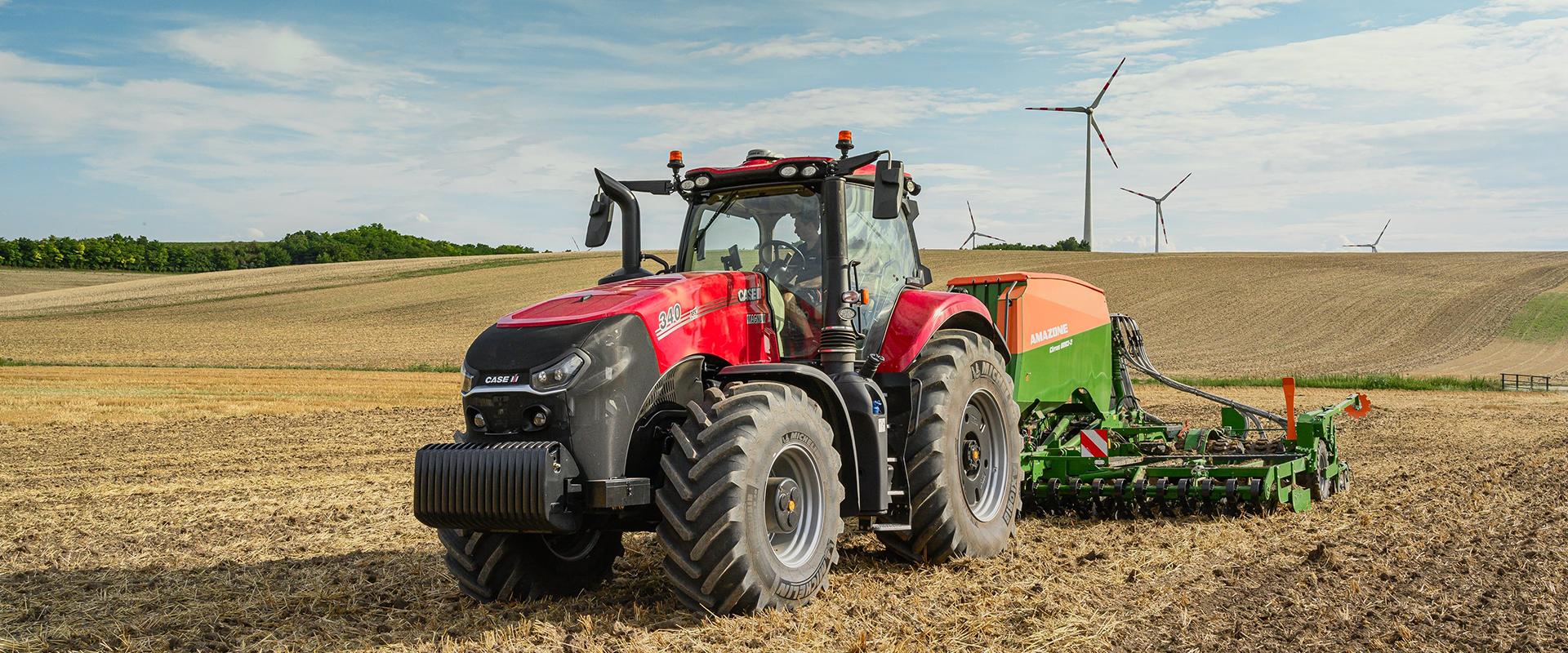 Amazone Case IH tracteur semoir