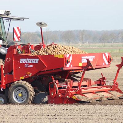 Planteuse à pomme de terre Grimme GL 410